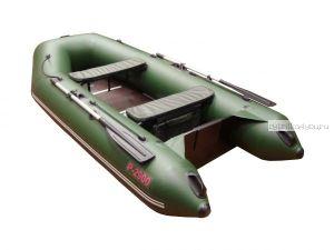 Лодка моторная ПВХ АКВА 2900 СК (Слань+Киль)
