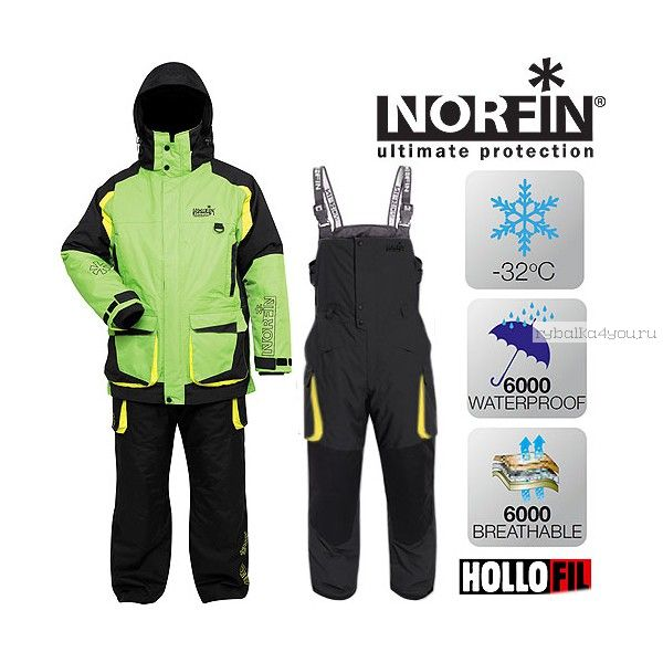 Костюм зимний Norfin EXTREME 3 LE