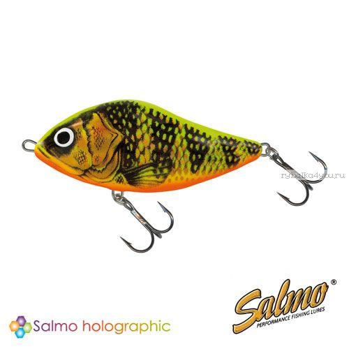 Воблер Salmo SLIDER S 10 цвет GFP / до 2 м