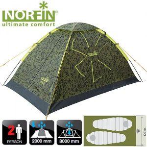 Палатка 2-х местная Norfin RUFFE 2 NC-10101
