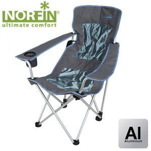 Кресло складное Norfin LEKNES NFL алюминиевое (Темный)