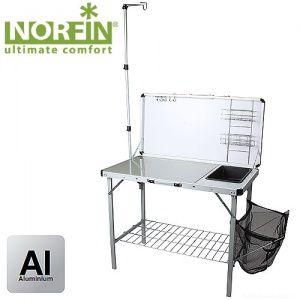 Стол-кухня складная Norfin FEREN NFL с раковиной