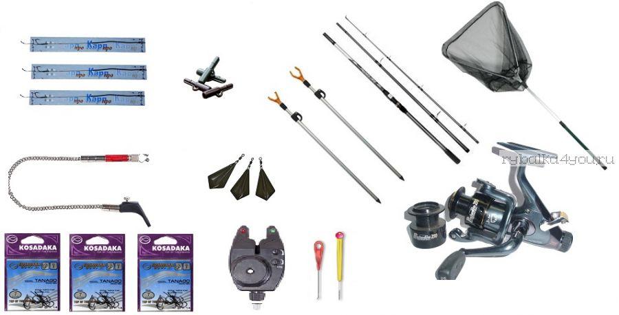 """Карповый рыболовный комплект """"Карполов Simple 360"""""""