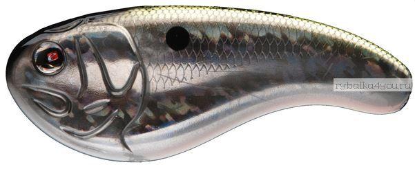 Воблер Sebile FLATT SHAD 54mm / 10гр /  дo 0.6m цвет D9