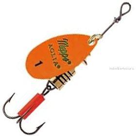 Блесна Mepps Aglia Fluo цвет Orange  / №2 / 4.5гр