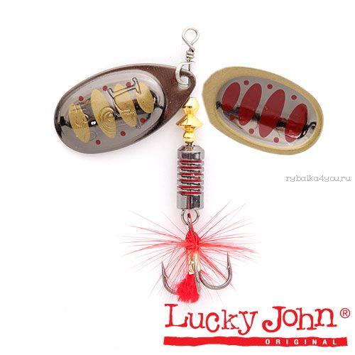 Блесна вращающаяся Lucky John BONNIE BLADE №01 / 3,5гр / цвет: 005