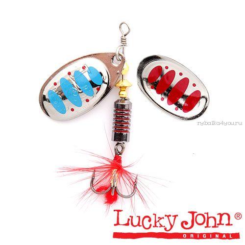 Блесна вращающаяся Lucky John BONNIE BLADE №03 / 6,4гр / цвет: 003