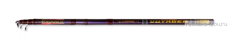 Удочка болонская ( с кольцами)  Kosadaka Voyager Tele Bolognese 4.5 м