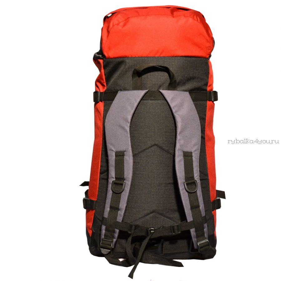 Рюкзак PRIVAL Маршрутный 65 литров Красный
