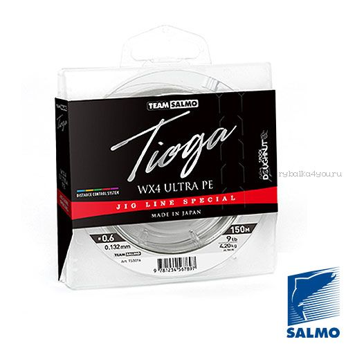 Леска плетеная Team Salmo Tioga Multi Colour (150м)