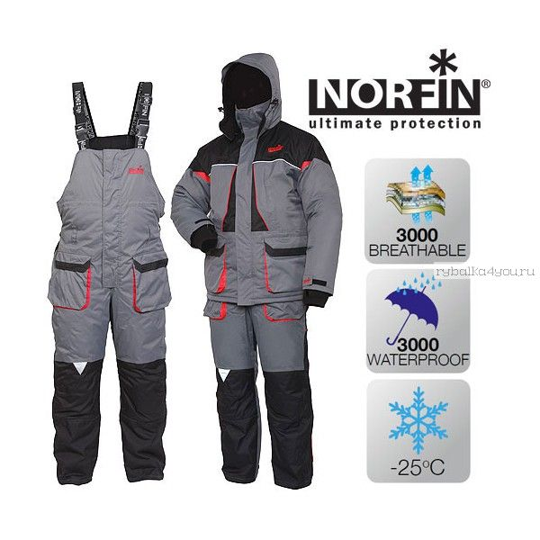 Костюм Norfin Arctic 2 RED