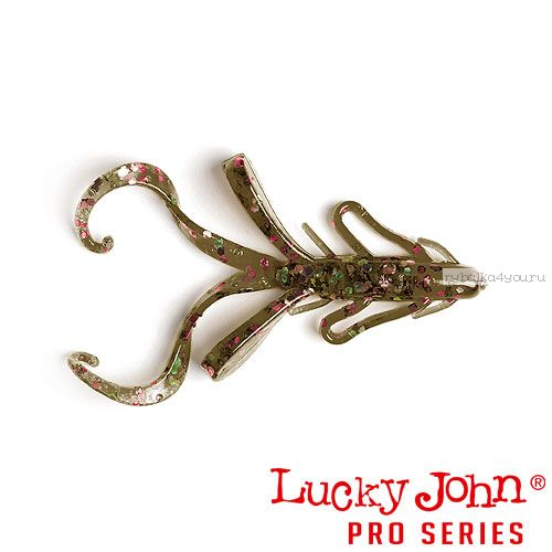 "Твистер Lucky John Pro Series HOGY HOG 2,1"" / 53 мм / цвет S21 / 8 шт"