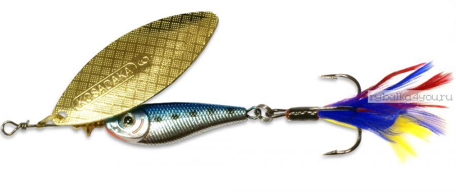 Блесна Kosadaka Quant № 0  3,5 гр / цвет BT-Gold