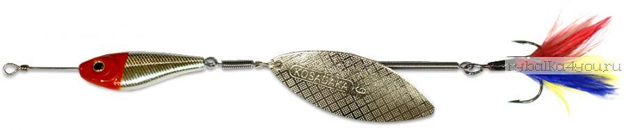 Блесна Kosadaka Quant V2 №4 17гр / цвет RH-Silver