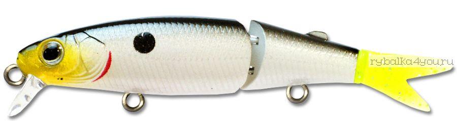 Воблер Kosadaka Cord-R XS 110F 13,8 гр / до 0,7 м / цвет RSSH