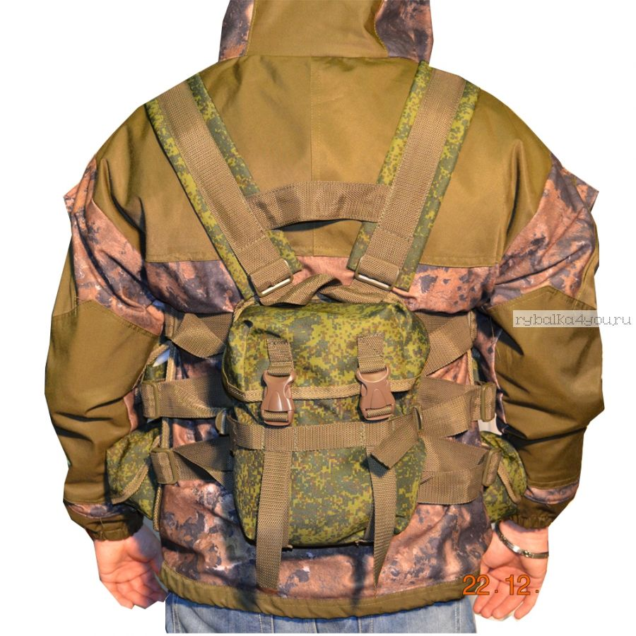 Рюкзак PRIVAL Черепашка ткань Oxford 600D /кмф-цифра