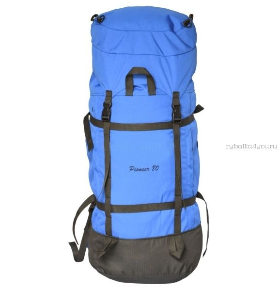 Рюкзак PRIVAL Пионер 80 л ткань Oxford  600D / василек