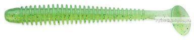 """Виброхвост Keitech Swing Impact 2.5"""" 6,4 мм / 1,4 гр / цвет - 424 Lime Chartreuse(упаковка 10 шт)"""