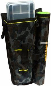 Cумка Kosadaka M10 набедренная со стаканом для спиннинга MTBP-M10 камуфляж