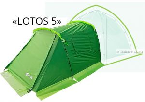 Палатка летняя ЛОТОС 5 Саммер спальная