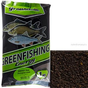 Прикормка Greenfishing ENERGY (Зима)  лещ холодная вода,1кг