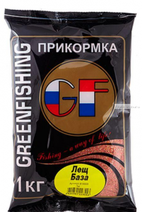 Прикормка Greenfishing GF  Лещ База 1кг.