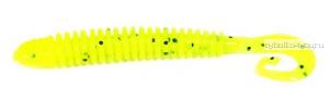 """Твистеры Aiko  Eel 2"""" 50 мм / 0,78 гр / запах рыбы / цвет - 012-Acid  (упаковка 10 шт)"""