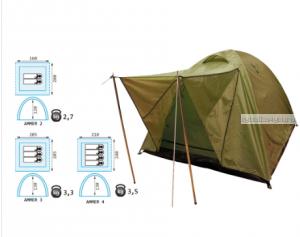 Палатка Reisen Ammer 4 (olive)