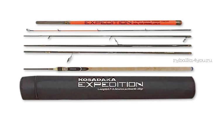 Спиннинг Kosadaka Expedition 6S-Dual 210/240см (10-30гр)