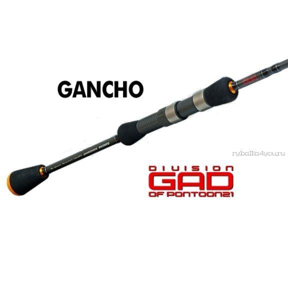 Кастинговое удилище Pontoon-21 GAD-P21 Gancho GAN602MLF-C 1,83м 4-16 гр