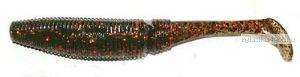Виброхвост Kosadaka Hart Shad 75mm / цвет OD / 4 шт