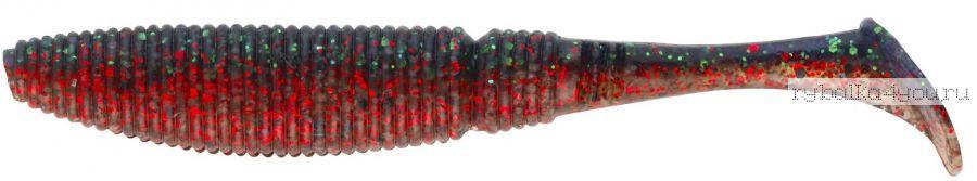 Виброхвост Sakura SLIT SHAD 100mm  / цвет 065 / 8 шт