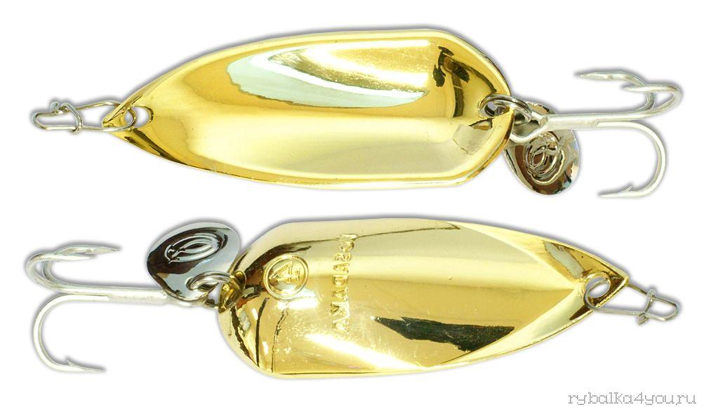 Купить Блесна Kosadaka Grav Spoon 55мм / 16 грамм Gold