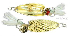 Блесна Kosadaka Pin Spoon 50мм /  15 грамм /  Gold