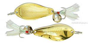 Блесна Kosadaka Warga Spoon 55мм /  10 грамм /  Gold