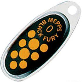 Купить Блесна Mepps Comet Black Fury цвет AG/JN / №2 4.5гр