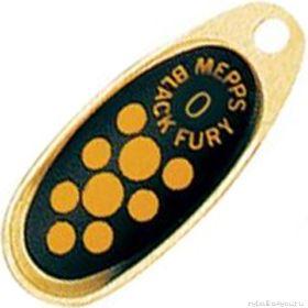 Купить Блесна Mepps Comet Black Fury цвет OR/JN / №2 4.5гр