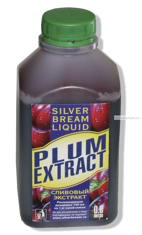 Ароматизатор Silver Bream Liquid Слива 600мл