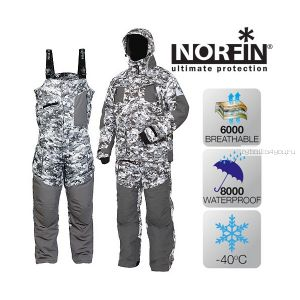 Костюм зимний Norfin Explorer Camo (Артикул:  340102)