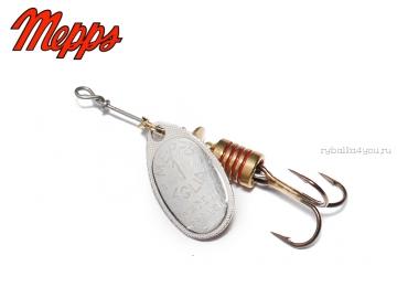 Купить Блесна Mepps Aglia Silver (Серебро) №1 (3,5 гр)