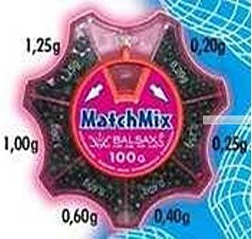Грузила Balsax Matchmix 0,2-1,25г