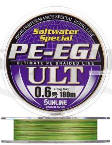 Плетеная леска SUNLINE PE EGI ULT 180m HG