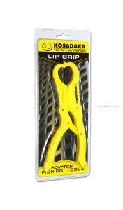 Захват челюстной (липгрип) Kosadaka TLP1 цвет- желтый
