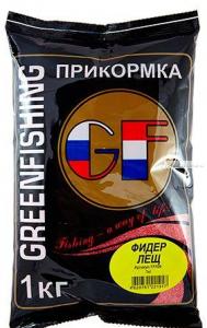 Прикормка Greenfishing GF Фидер Лещ 1кг