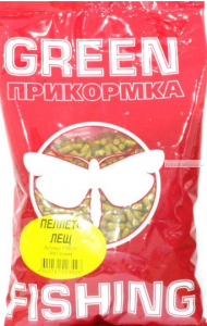 Пеллетс Greenfishing  прикормочный Лещ 800 гр