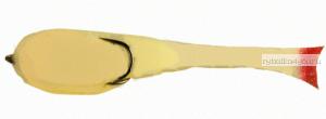 Поролоновая рыбка OnlySpin Bait 110 мм / упаковка 5 шт / цвет:белый