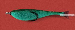 Поролоновая рыбка OnlySpin Bait 65 мм / упаковка 5 шт / цвет: зеленый