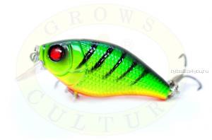 Воблер Grows Culture Chubby 38F 38мм/ 4 гр/заглубление: 0,6-1м/ цвет:Q11