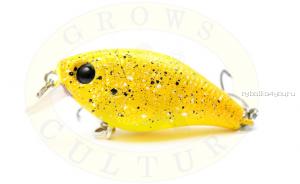 Воблер Grows Culture Chubby 38F 38мм/ 4 гр/заглубление: 0,6-1м/ цвет:R43