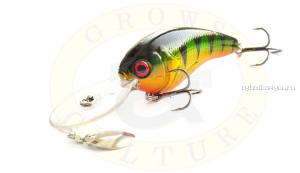 Воблер Grows Culture Jack 70F 70 мм/ 15 гр/заглубление: 1 - 6 м/ цвет: Q4